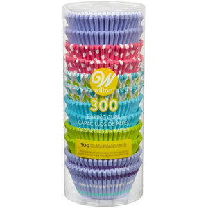 Bright and Summery Standard Cupcake Liners, 300-Count