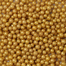 Load image into Gallery viewer, Gold Sugar Pearls, 5 oz.