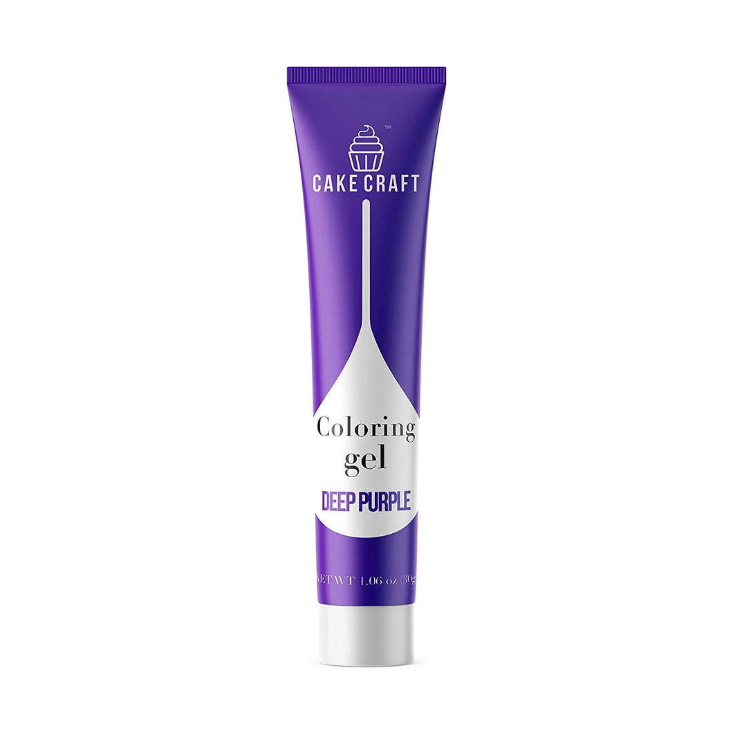 Deep Purple - Cake Craft Coloring Gel 1.06oz