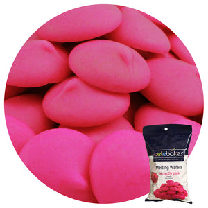 Celebakes Perfectly Pink Melting Wafers, 1lb