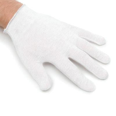 White Cotton Gloves Large