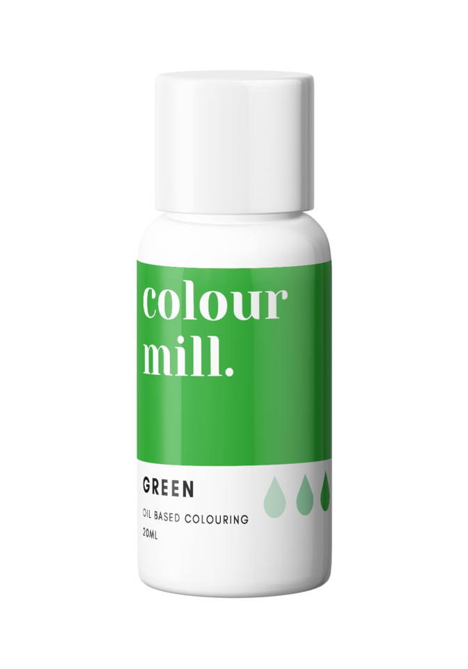 Oil Based Colouring 20ml Green
