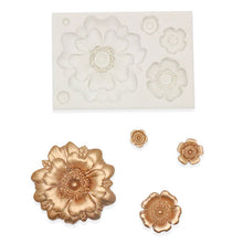 Load image into Gallery viewer, 3D SILICONE FLOWER