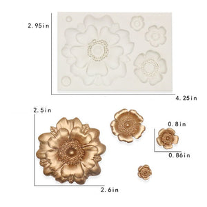3D SILICONE FLOWER