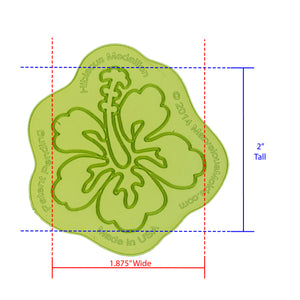 Hibiscus Medallion Silicone Onlay by Marvelous Mold