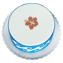 Load image into Gallery viewer, Hibiscus Medallion Silicone Onlay by Marvelous Mold
