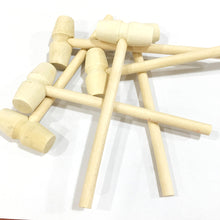 Load image into Gallery viewer, MINI Wooden Mallets Set Of 2