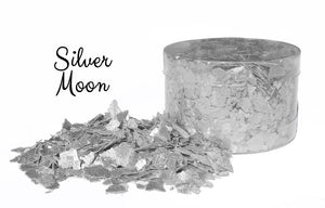 Edible Flakes - Silver Moon