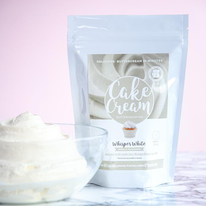 CAKE CREAM - WHISPER WHITE - LARGE 200G