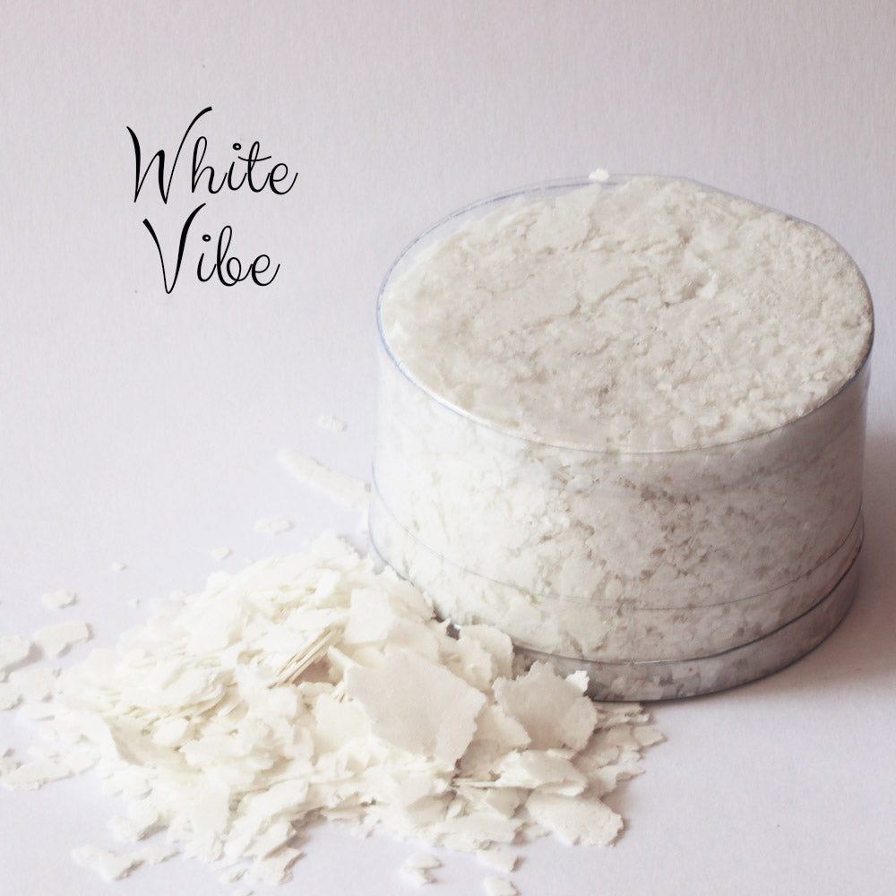 White Vibe  (Snow White) – Edible Flakes