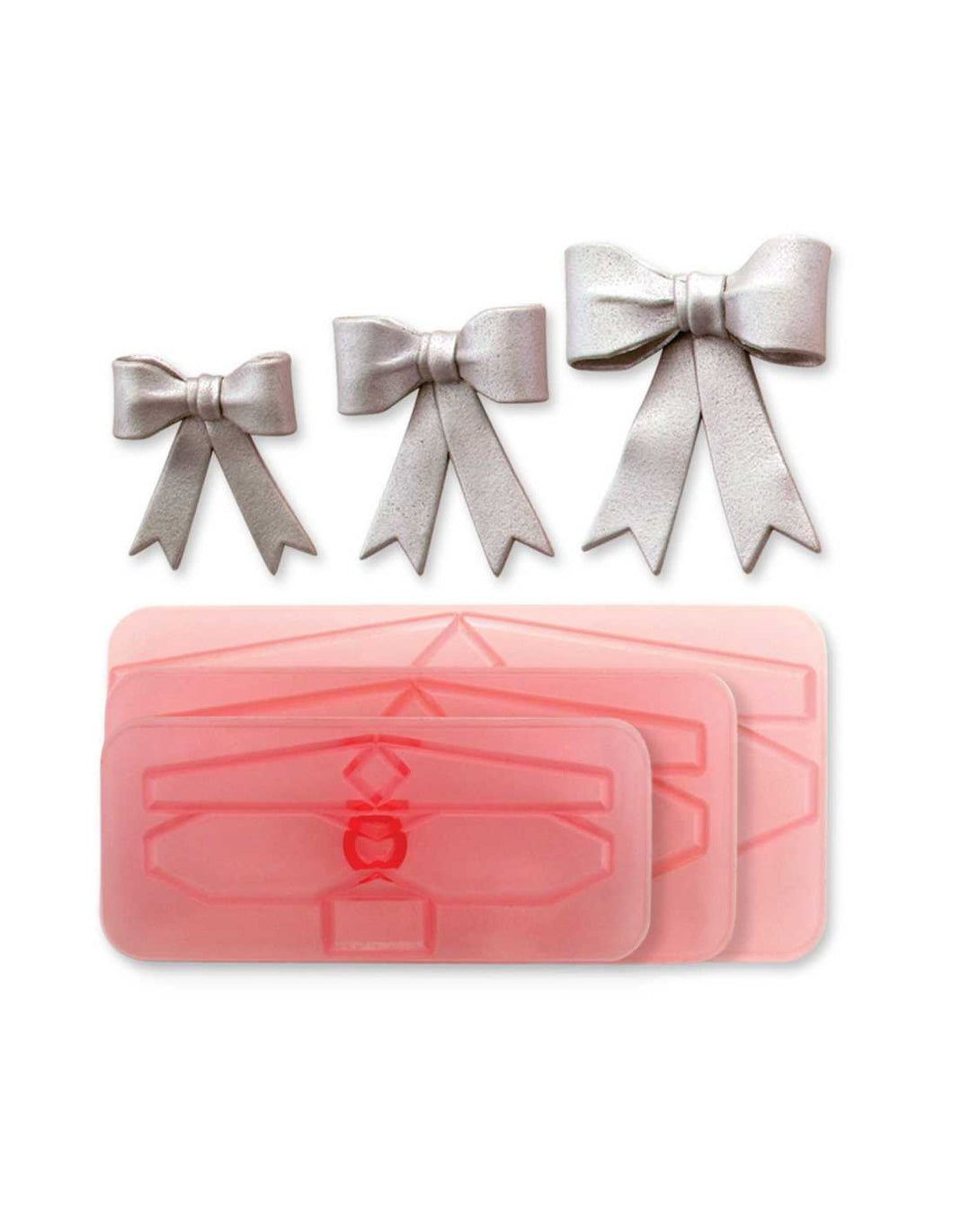 BORDERS CUTTERS - LARGE BOWS SET OF 3