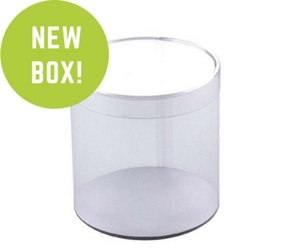 TUBE CLEAR BOX 6 X 6 X 10""