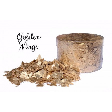 Edible Flakes - Golden Wings