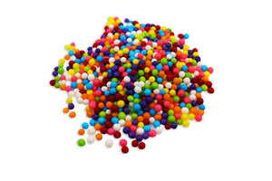 Rainbow Sugar Pearls - 100G