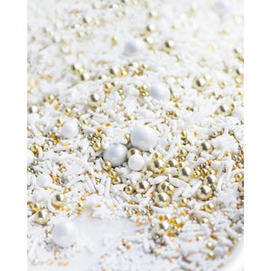 WEDDING CAKE Twinkle Sprinkle Medley 4oz.