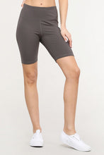 Load image into Gallery viewer, High Rise Matte Bike Shorts - SportyLeggings.com