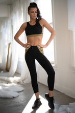 Load image into Gallery viewer, Side Colorblock Workout Leggings - SportyLeggings.com