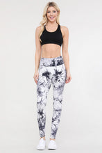 Load image into Gallery viewer, Tie Dye Workout Leggings - White - SportyLeggings.com