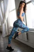 Load image into Gallery viewer, High Rise Palm Leaf Leggings - SportyLeggings.com