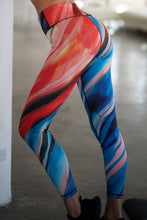 Load image into Gallery viewer, High Rise Watercolor Leggings - SportyLeggings.com