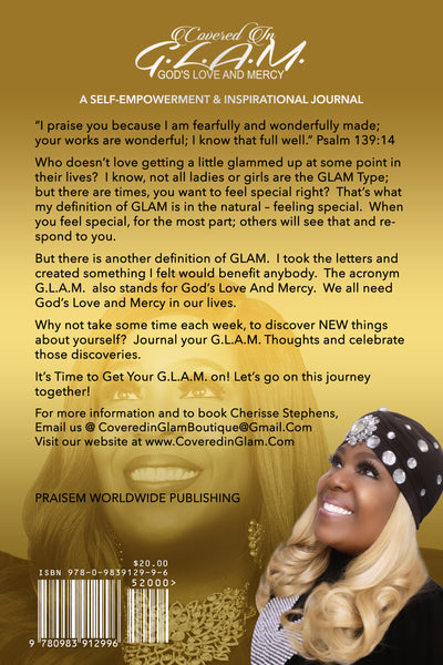 GLAM - A Self-Empowerment & Inspirational Journal (paperback)