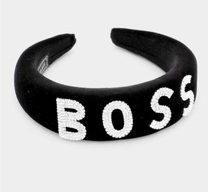 GLAM - I'M THE BOSS Headband