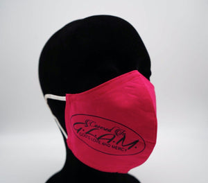 GLAM - Face Protector Pink (Mask)