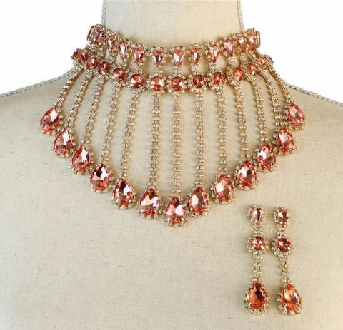 GLAM - Rows of GLAM Necklace