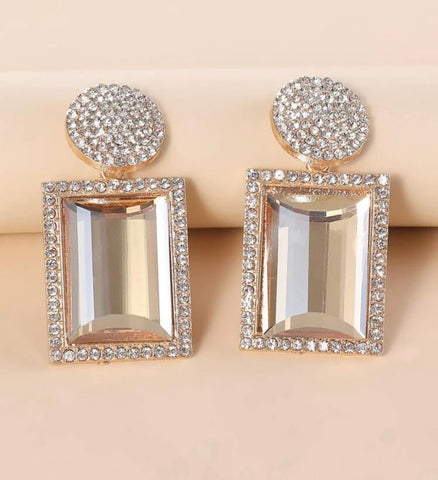 GLAM - Glass Slipper Earrings