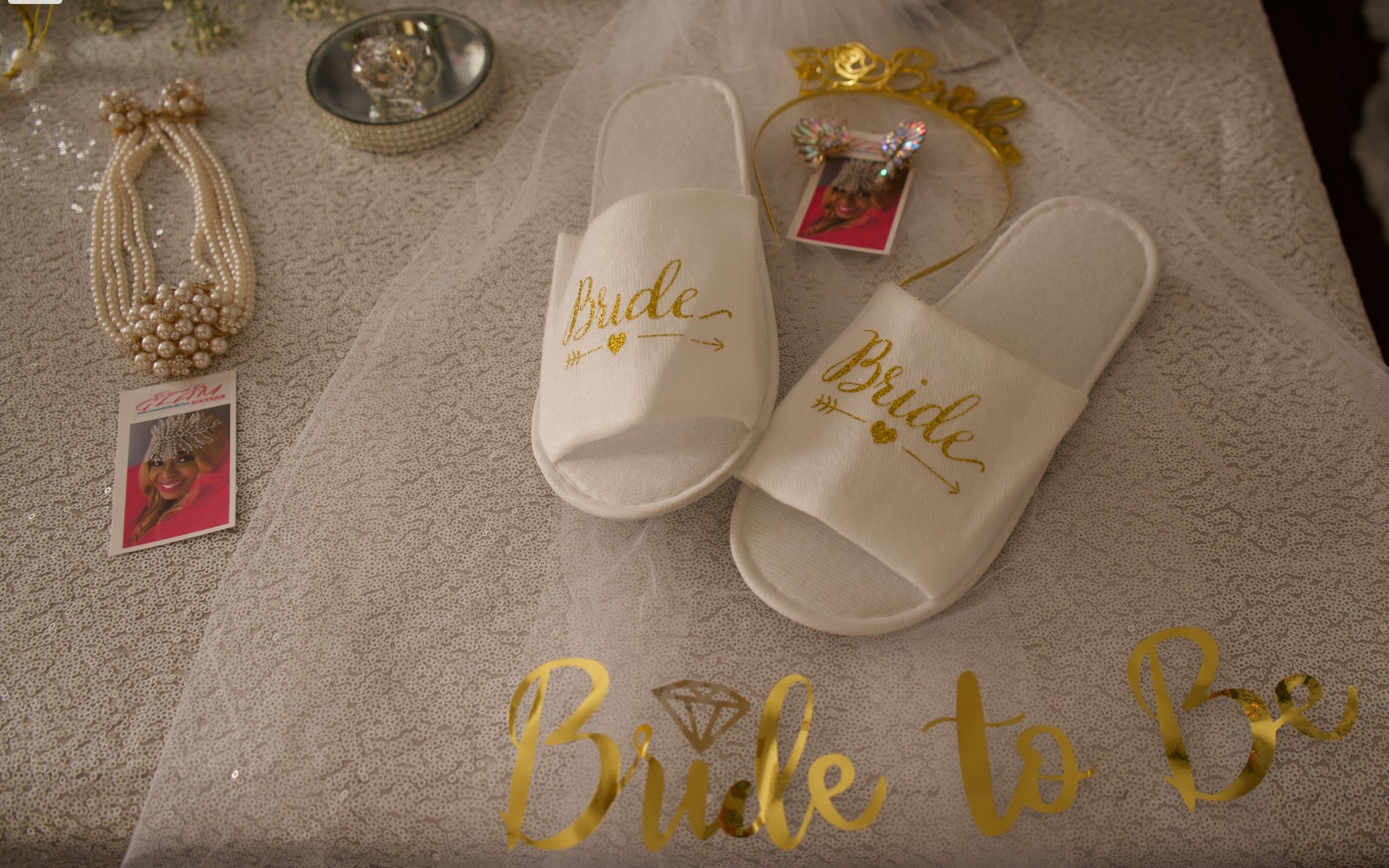GLAM - BRIDE Slippers
