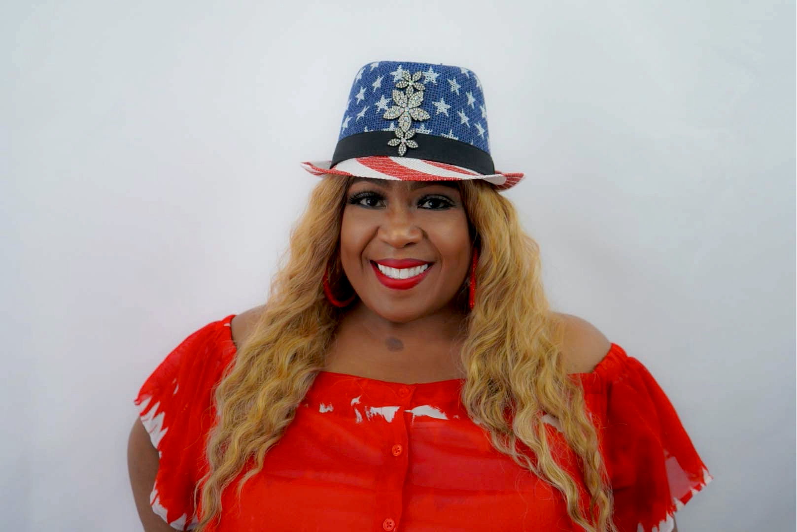 GLAM - Stars & Stripes Fedora