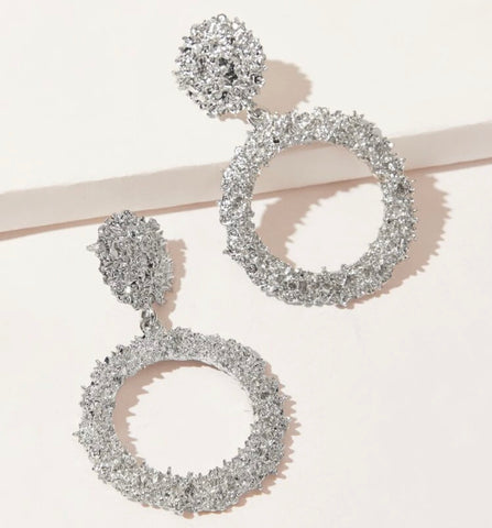 GLAM - Real Rocky Earrings