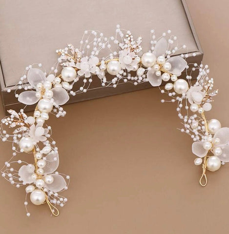 GLAM - Little Princess Flowers for the Girl Headband