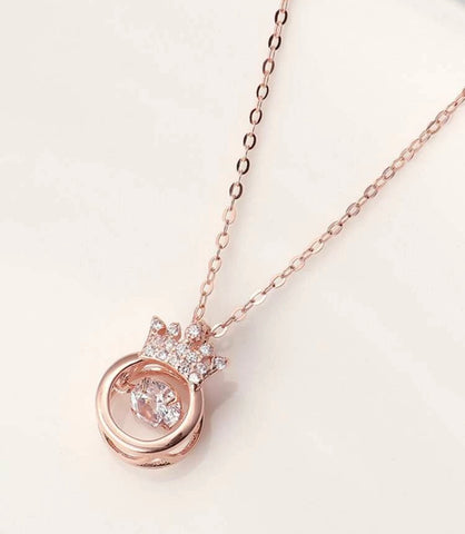 GLAM - Little Princess Crown Necklace