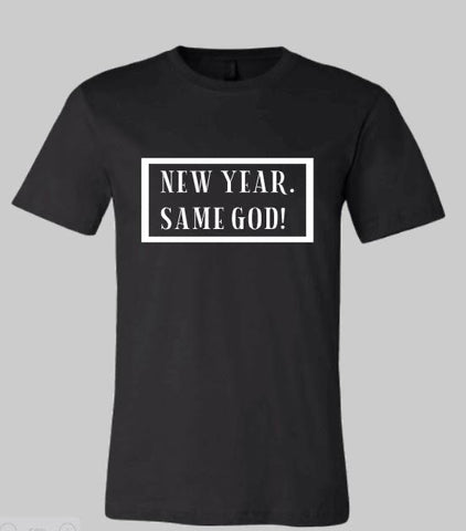 GLAM - New Year. Same God (Unisex T-Shirt)