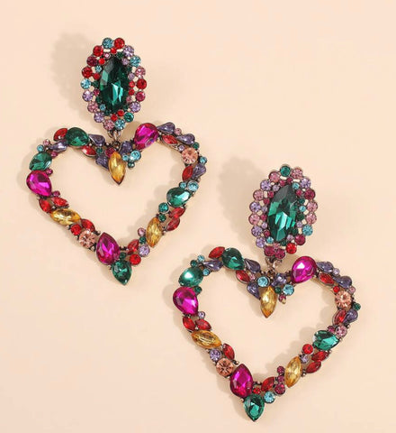 GLAM - Heart of Colors Earrings