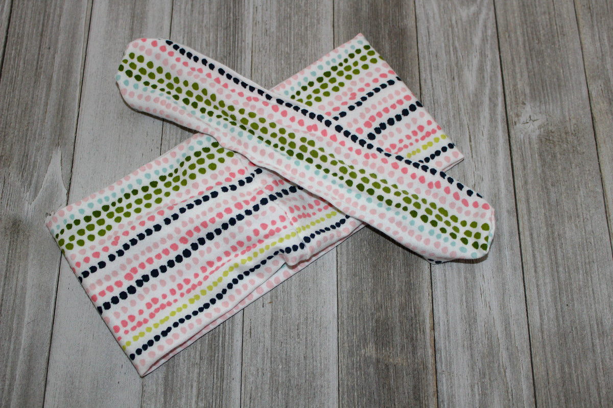 Connect the Dots Scarf with Bow*