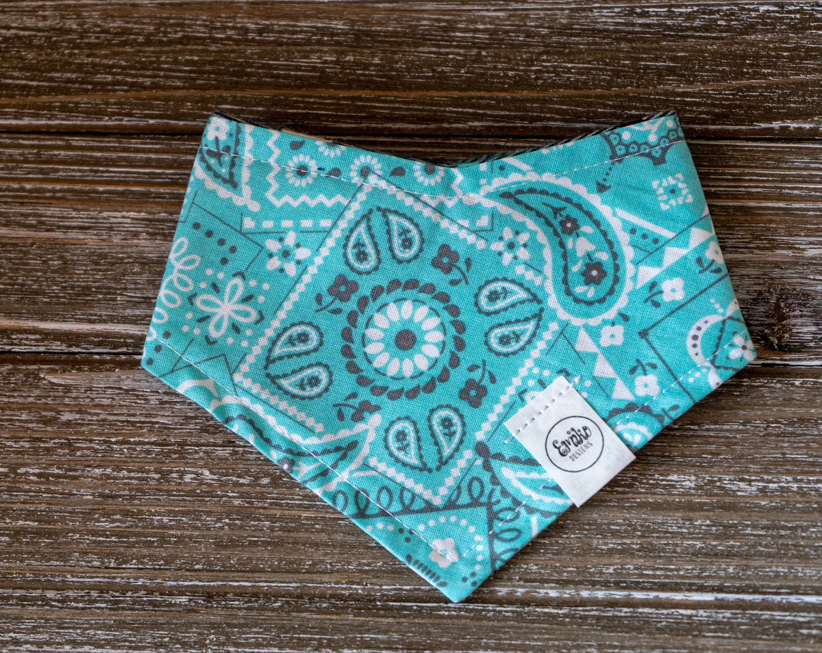 Breakfast at Tiffany's Reversible Pet Bandana