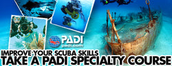 PADI Distinctive Speciality Courses