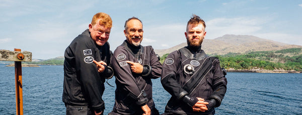 Why We Dive Otter Drysuits!
