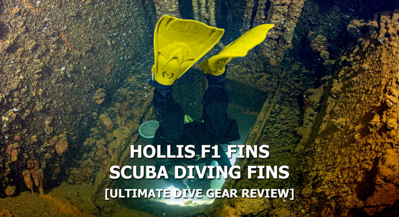 Hollis F1 Fin Review | Dive Gear Review | Scuba Leeds UK