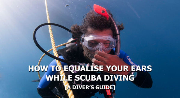 How To Equalise Your Ears While Scuba Diving | Tips & Tricks | Scuba Leeds UK