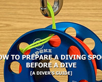 A Step By Step Guide To Preparing A Diving Spool | Tips & Tricks | Scuba Leeds UK