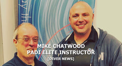 Mike Chatwood PADI Elite Instructor | Scuba Leeds UK