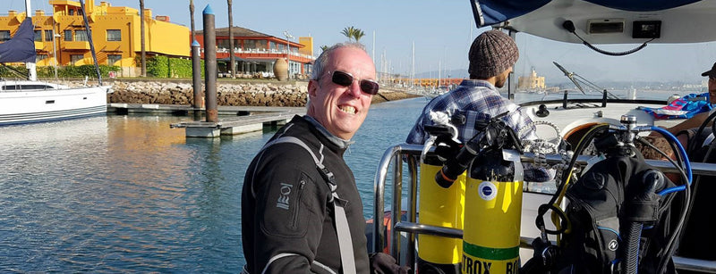 Meet The Dive Team - Mike Chatwood