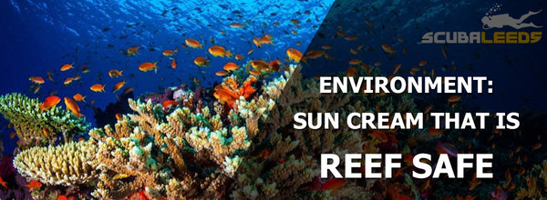 Environmentally Reef Safe Sun Cream
