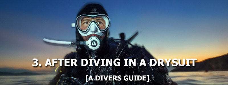 3. After Diving In A Drysuit