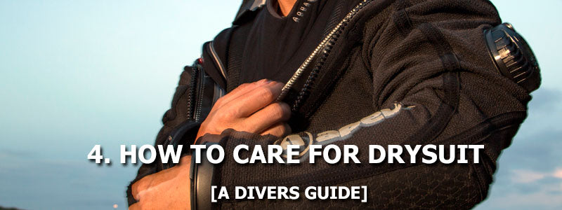4. How To Care For A Drysuit