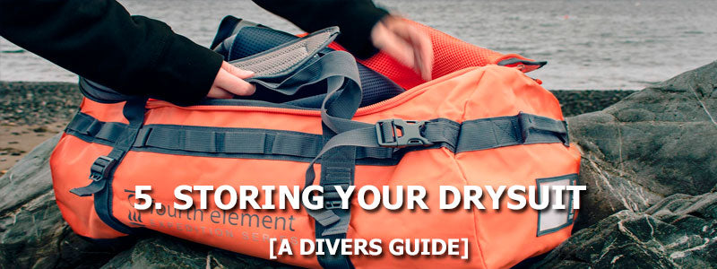 5. Storing Your Drysuit