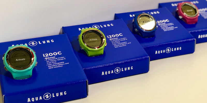The range of Aqua Lung i200C Colours